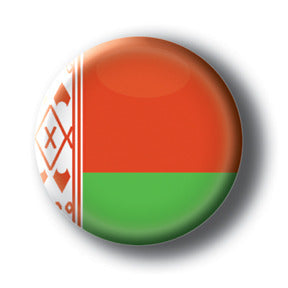 Belarus - Flags of The World Button/Magnet
