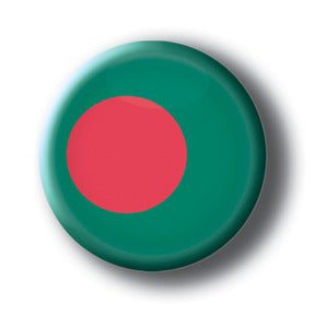 Bangladesh - Flags of The World Button/Magnet