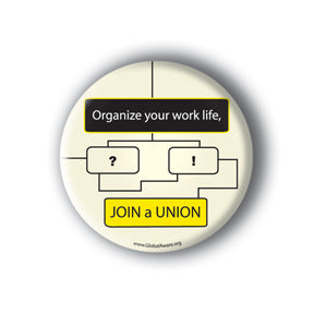 Organize Your Work Life, Join A Union.