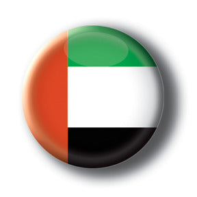 United Arab Emirates - Flags of The World Button/Magnet