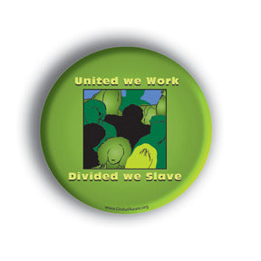 Union campaign custom button design