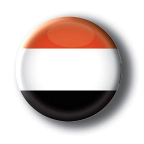 Yemen - Flags of The World Button/Magnet
