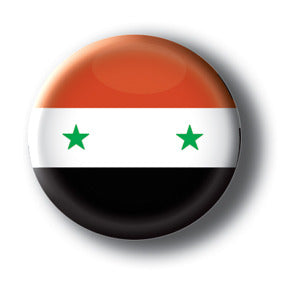 Syria - Flags of The World Button/Magnet
