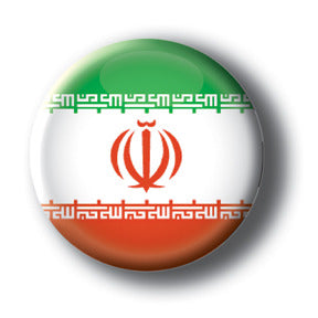 Iran - Flags of The World Button/Magnet