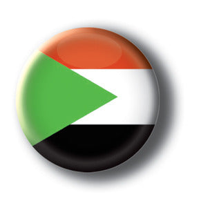 Sudan - Flags of The World Button/Magnet