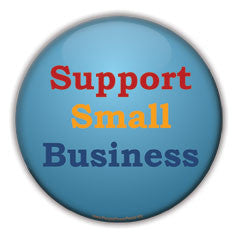 support small business button design