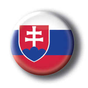 Slovakia - Flags of The World Button/Magnet