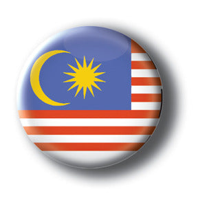 Malaysia - Flags of The World Button/Magnet