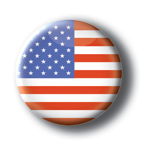 United States of America - Flags of The World Button/Magnet