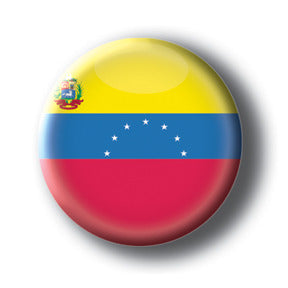 Venezuela - Flags of The World Button/Magnet