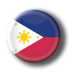 Philippines - Flags of The World Button/Magnet