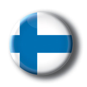 Finland - Flags of The World Button/Magnet