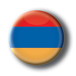 Armenia - Flags of The World Button/Magnet
