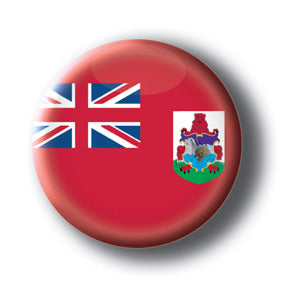 Bermuda - Flags of The World Button/Magnet
