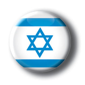 Israel - Flags of The World Button/Magnet