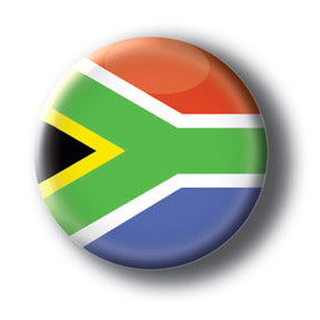 South Africa - Flags of The World Button/Magnet