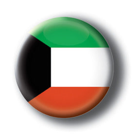 Kuwait - Flags of The World Button/Magnet