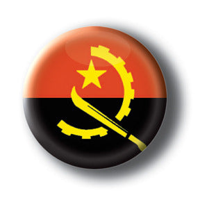Angola - Flags of The World Button/Magnet
