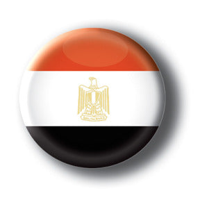 Egypt - Flags of The World Button/Magnet