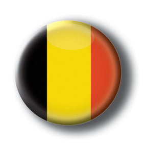 Belgium - Flags of The World Button/Magnet