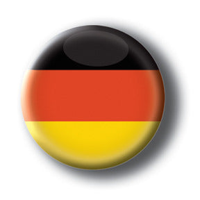 Germany - Flags of The World Button/Magnet