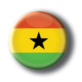 Ghana - Flags of The World Button/Magnet