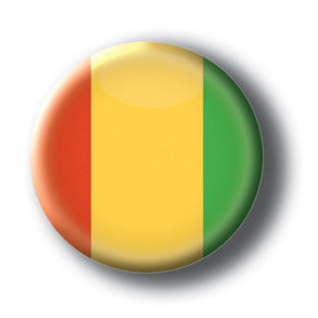 Guinea - Flags of The World Button/Magnet