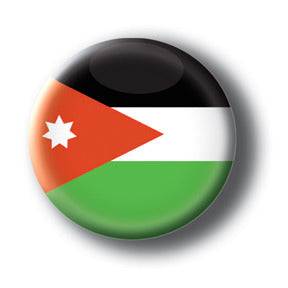 Jordan - Flags of The World Button/Magnet