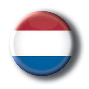 The Netherlands - Flags of The World Button/Magnet