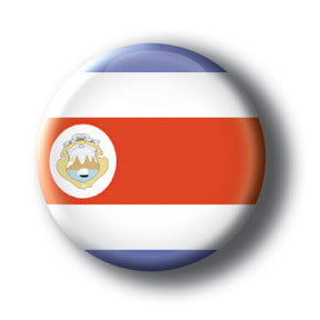Costa Rica - Flags of The World Button/Magnet
