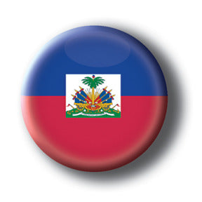 Haiti - Flags of The World Button/Magnet