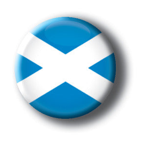 Scotland - Flags of The World Button/Magnet