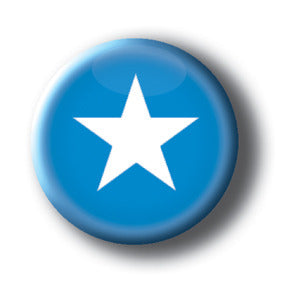 Somalia - Flags of The World Button/Magnet