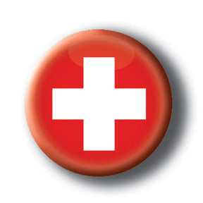 Switzerland - Flags of The World Button/Magnet
