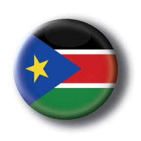 South Sudan - Flags of The World Button/Magnet