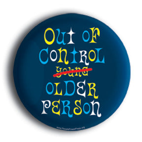 Out of control older person