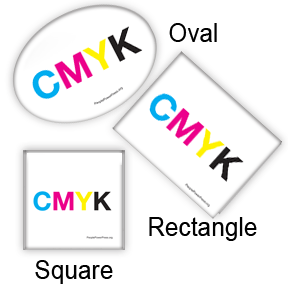 cmyk Graphic Custom Pin Design