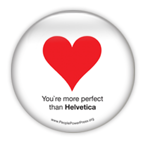 Perfect Like Helvetica - Graphic Design