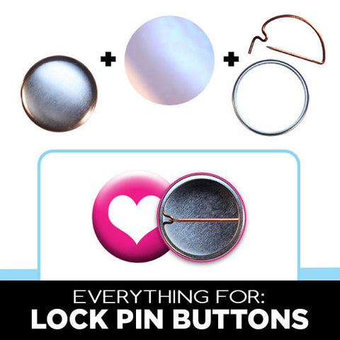 1-1/4 inch lock pin button parts