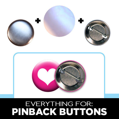 "pinback button parts for 1-1/4"" button makers"