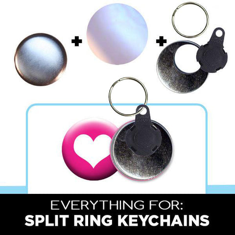 EVERYTHING for Split Ring Keychains