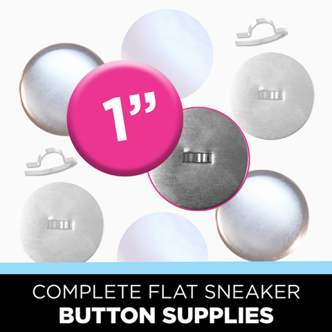 SPECIAL*** SAMPLE PACK: Try 50% OFF 1 inch Button Packs - 25's