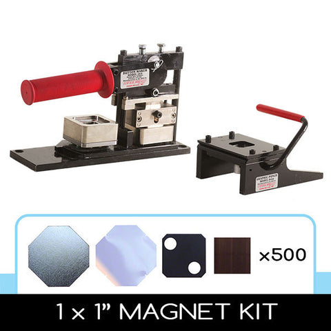 1 x 1 inch square magnet kit
