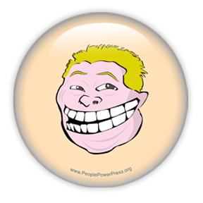 Rob Ford Trollface Button