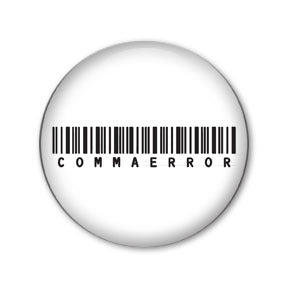 Comma Error Barcode Buttons on People Power Press
