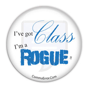 I've got class. I'm a Rogue! Comma Error Radio buttons on People Power Press