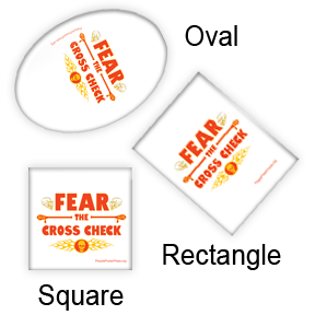 Lacrosse Square, Oval and Rectangular Button Design