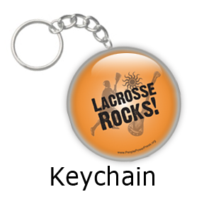 Lacrosse team button design