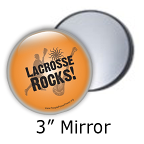 Lacrosse sport button design