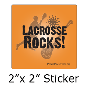 Lacrosse button design